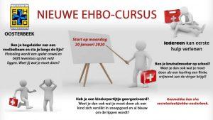 Lees meer over het artikel 20 januari 2020 start er een nieuwe EHBO cursus: geef je op!